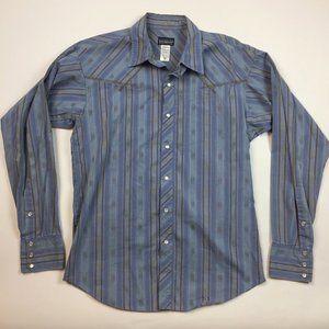 Patagonia Rythm Men's Pearl Snap Shirt Medium M3-3